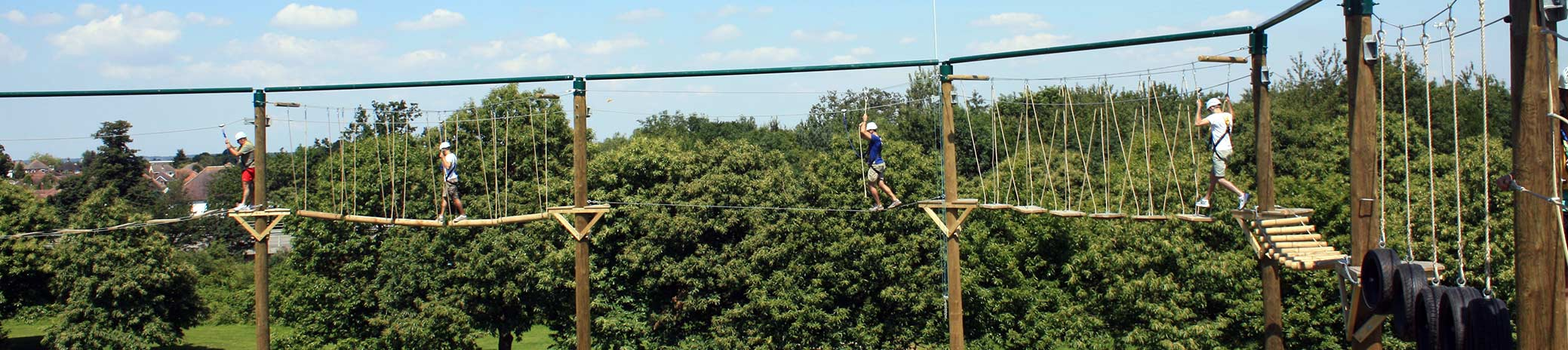 Days Out In Bournemouth Altitude High Ropes Adventure