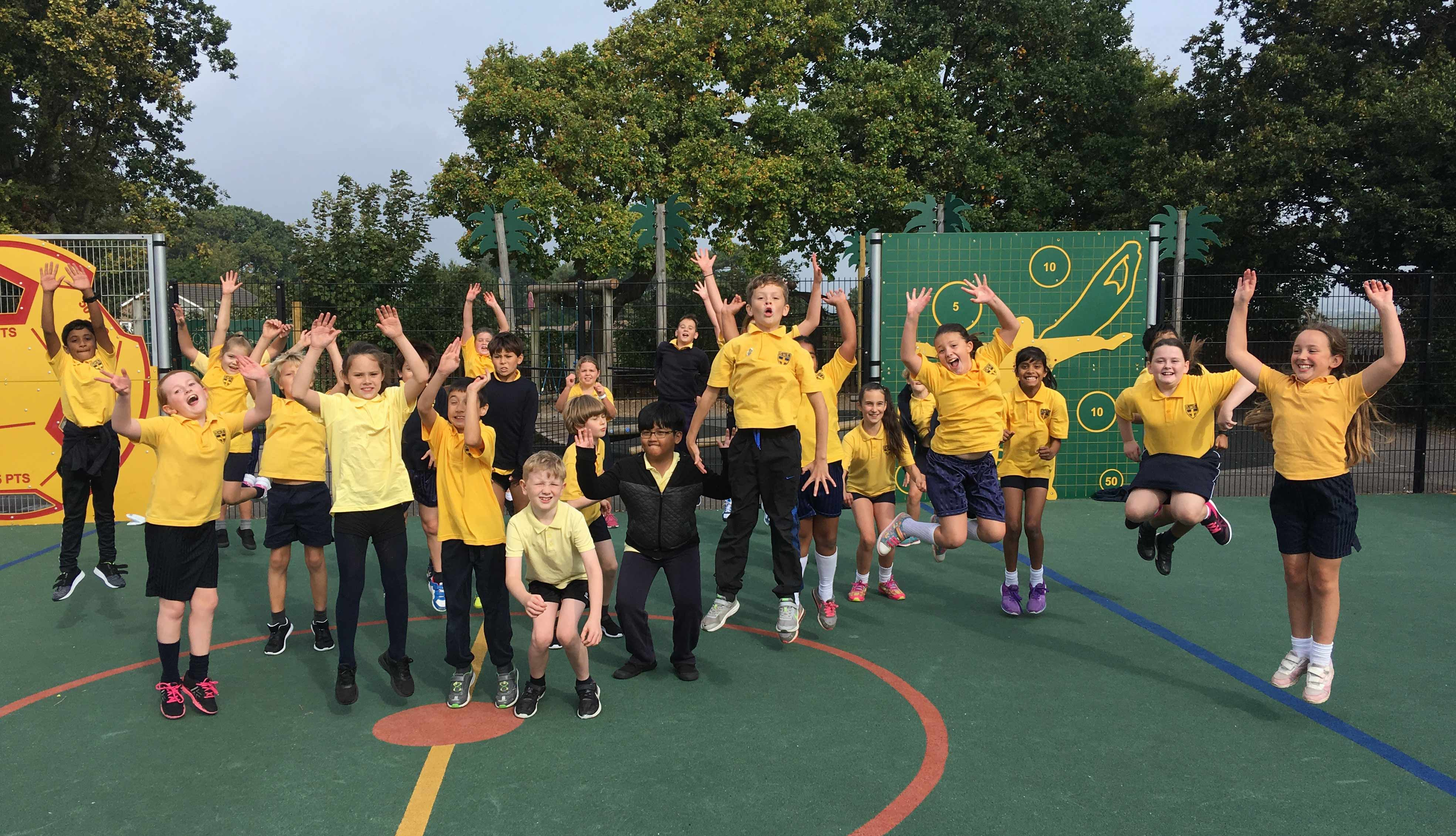 National Fitness Day Inspires Bournemouth Children To Get Active